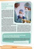 HOSpiTal SE mObiliza rUmO à ExcElêNcia médica - Hospital Balbino - Page 7