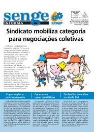 Sindicato mobiliza categoria para negociações coletivas - Senge-MG