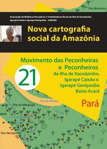21 E Peconheiros - Nova Cartografia Social da Amazônia