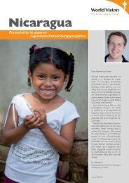 Länderfortschrittsbericht Nicaragua - World Vision Schweiz