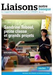 Liaisons notre banque 91 - avril 2010 - Casden