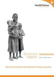 Testament- - World Vision Schweiz
