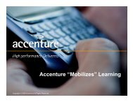 """Accenture """"Mobilizes"""" Learning - ADL Mobile"""