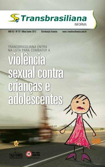 violência sexual contra crianças e adolescentes - Transbrasiliana