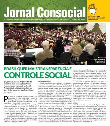 Jornal Consocial - Controladoria-Geral da União