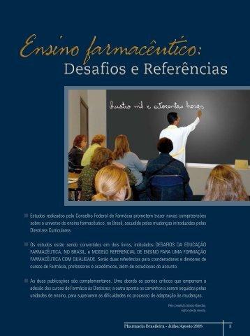 ensino farmacêutico: desafios e referências - educação - Conselho ...