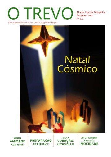 Natal Cósmico - Aliança Espírita Evangélica