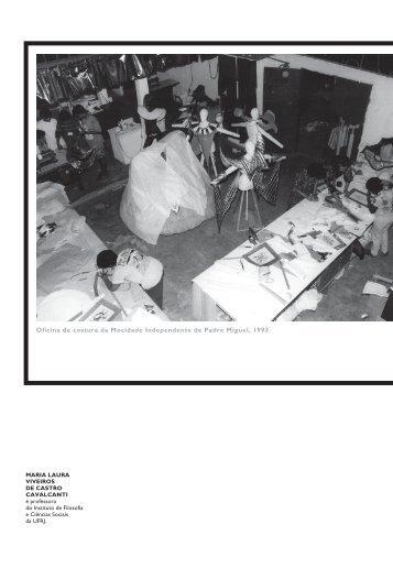 Oficina de costura da Mocidade Independente de Padre ... - USP