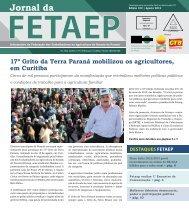 17º Grito da Terra Paraná mobilizou os agricultores, em ... - Fetaep