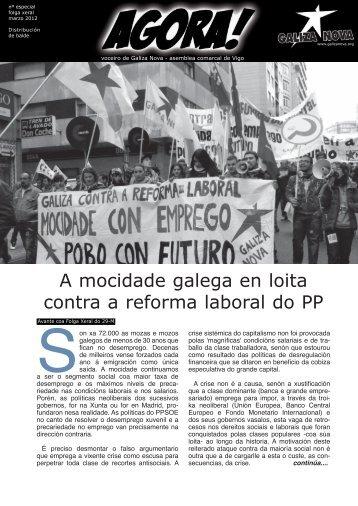 A mocidade galega en loita contra a reforma ... - Contradiscurso