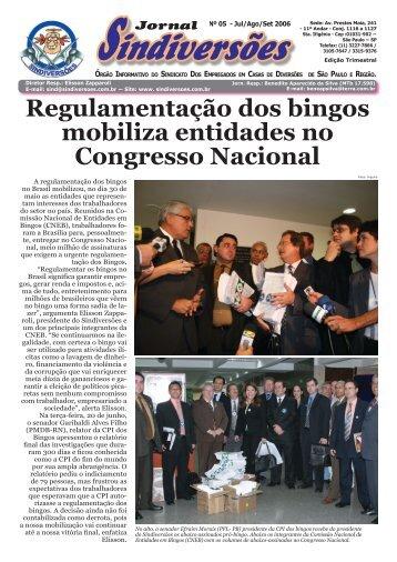 Jornal Sindiversões nº 5 - 2006