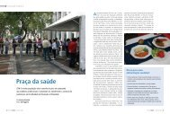 Praça da saúde - Conselho Regional de Nutricionistas