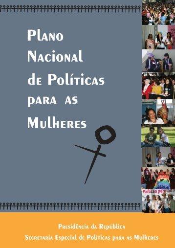 Plano Nacional de Políticas Mulheres para as - BVS Ministério da ...