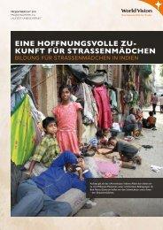 EinE hoffnungsvollE Zu- kunft für ... - World Vision Schweiz