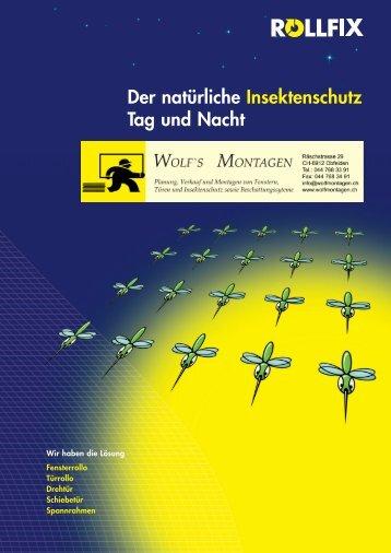Der natürliche Insektenschutz Tag und Nacht - wolfmontagen.ch