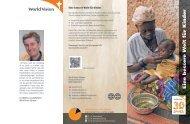 Eine bessere W elt für Kinder - World Vision Schweiz