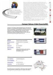 Camper Deluxe 2-Bett Dusche/WC .ch - World-Wide-Wheels