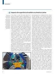 Impacto da experiência brasileira na América Latina - TheLancet.com
