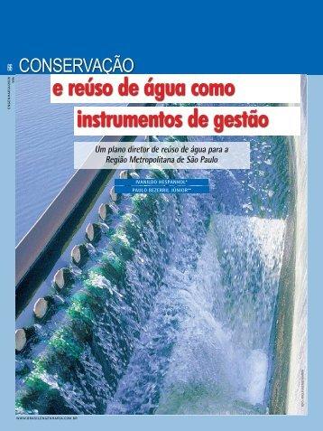 conservação e reúso de água como instrumentos de