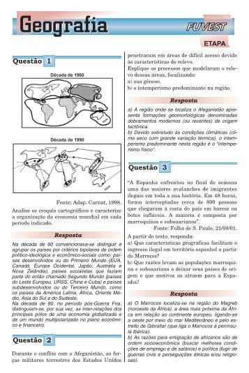 Geografia - Etapa