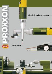 Proxxon micromot - Fiber disk doo