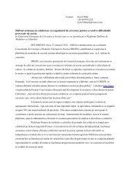 DuPont urmeaza sa colaboreze cu organizatii de cercetare pentru a ...