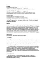 Artigo Séries Temporais no Consumo de Energia Elétrica no ... - FSMA