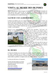 VISITA AL MUSEE DES BLINDES - ModelArmor