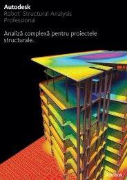 Descarca brosura de prezentare Robot Structural ... - aps: Autodesk