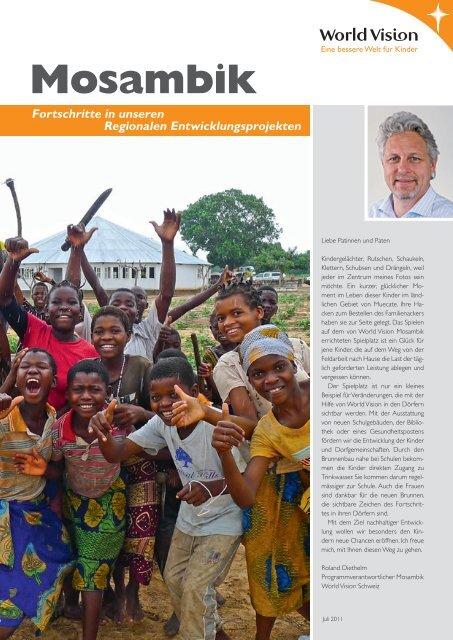 Fortschritte in unseren Regionalen ... - World Vision Schweiz