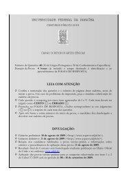 Diretor de Artes Cênicas - Universidade Federal da Paraíba