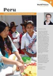 Peru - World Vision Schweiz
