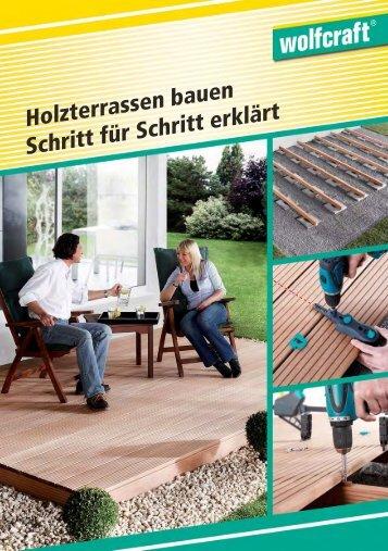 Terrassenbau- Verlegeanleitung PDF - verdeckte Verschraubung ...