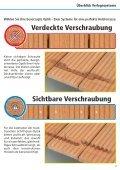 Terrassenbau- Verlegeanleitung PDF - verdeckte Verschraubung ... - Seite 3