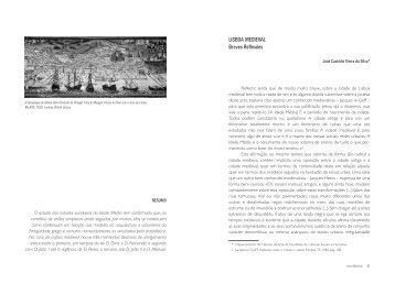 Lisboa Medieval. Breves reflexões - Instituto de História da Arte
