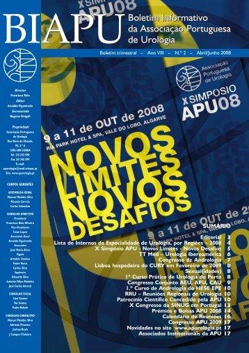 2-2008 - Associação Portuguesa de Urologia