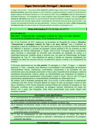 Nota Informativa n.º 5 - Associação Portuguesa de Geógrafos