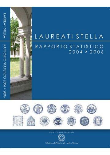 rapporto stella laureati 2004-2006 - Cosp - Università degli Studi di ...