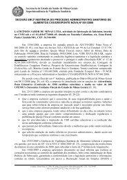 D2ªI - Laticínios Sabor de MInas Ltda. - Secretaria de Estado de ...