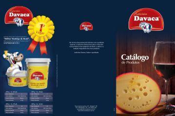 Clique aqui para baixar a versão do catálogo de ... - Laticínios Davaca