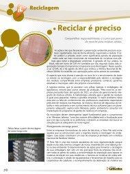Reciclagem - Revista Laticínios