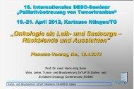 Lesen Sie hier das Referat - und Brustzentrum ZeTuP St.Gallen