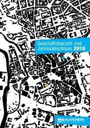Geschäftsbericht 2010PDF - Bauverein Halle & Leuna eG