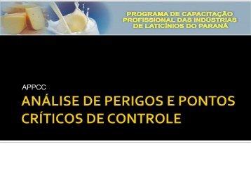 Módulo II Qualidade do Leite e Laticínios - Secretaria da Agricultura ...