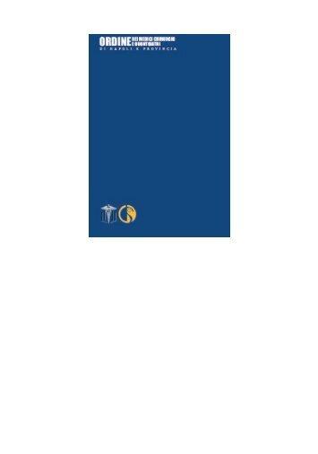 Bollettino Ottobre - Novembre 2010 - Ordine dei Medici Chirurghi e ...