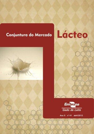 Ano 5 no 41 abril/2012 - Centro de Inteligência do Leite