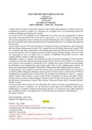 GRAN PREMIO GROTTAROSSA K42 28-10-2012 Roma - Gruppo ...
