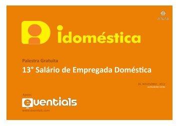 13° Salário de Empregada Domés-ca - Amazon Web Services