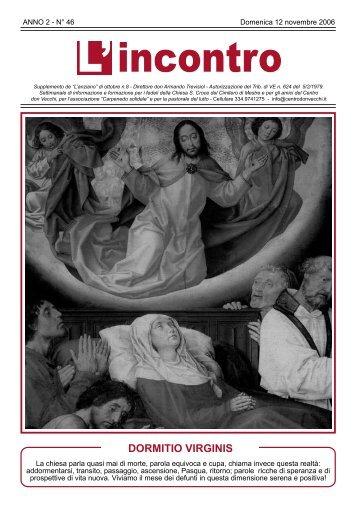 12 novembre 2006 - Il Centro don Vecchi