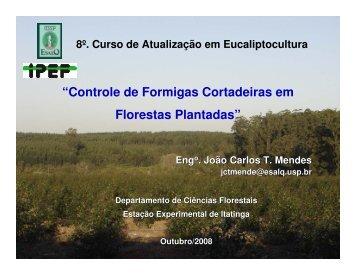 """""""Controle de Formigas Cortadeiras em Florestas Plantadas"""" - Ipef"""